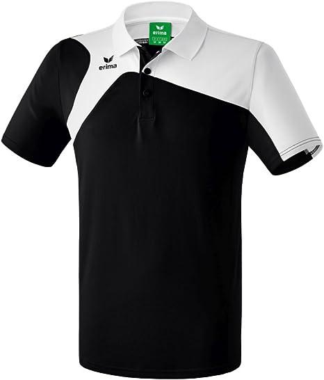 Erima GmbH Club 1900 2.0 Polo de Tenis, Unisex niños, Negro/Blanco ...