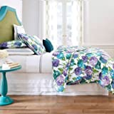 Company C Hydrangea Size, Full or Queen Quilt, Blue