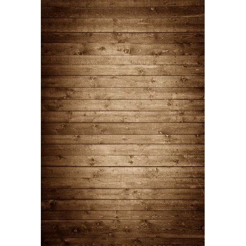 Photography Weathered Faux Wood Floor Drop Background Mat CF1367 Rubber Backing, 5'x7' High Quality Printing, Roll up for Easy Storage Photo Prop Carpet Mat