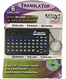 6-Languages Electronic Translator with Keychain