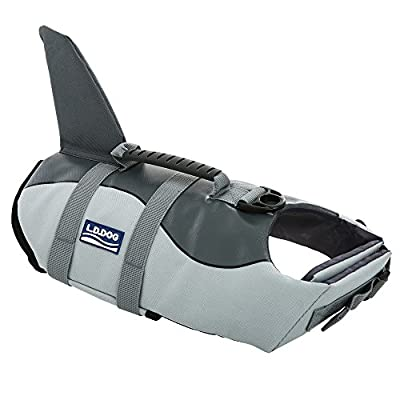 Ripstop Dog Life Jacket Coat Pet Safety Swimsuit Floatation Life Vest Preserver