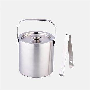 Doble Cubierta De Acero Inoxidable Mango Ice Bucket Tool,1.3 ...