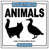 Best Book For Newborns - Baby's First Book: Animals: High-Contrast Black and White Review