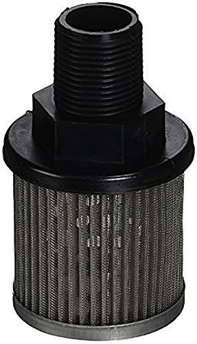 Flow Ezy Filters, Inc. P3 3/4 NIPPLE 60 AL Suction Strainer with Nylon Connector End, Aluminum Support Tube and End Cap, 3/4'' Male NPT, 3 GPM, 60 Mesh Size, Nipple Connector by Flow Ezy Filters, Inc.