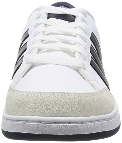 adidas Zapatillas Courtset Ftwbla/Maruni/Rojpot Deporte Unisex Adulto Blanco (F99130 Blanco)