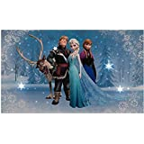 SnowTime Disney Frozen LED Light Up Canvas - Elsa, Anna, Sven and Kristoff by Snowtime