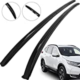 Mophorn Roof Rack Aluminum Roof Rail Side Rack for Honda CRV CR-V 2017 2018 2019 Black