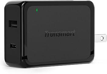 Tronsmart 30W Dual USB Type-C QC 3.0 Wall Charger