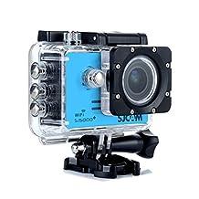 SJCAM SJ5000 Plus 16MP WiFi Action HD Camera Ambarella A7LS75 Waterproof - Blue