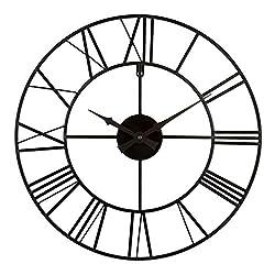 La Crosse Clock Co. 20 Wrought Iron Wall Clock