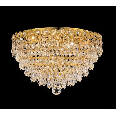 Elegant Lighting Century 10-Inch High 4-Light Chandelier