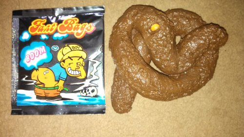 Fake Poop With Corn, Stink Bomb Included, Gag Gift, Practical Joke (Corn Dog Gag Gift compare prices)