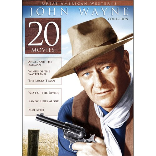 DVD : 20-Film Great American Westerns: John Wayne Collection (Full Frame, Boxed Set, Slim Pack, Amaray Case, 4 Disc)