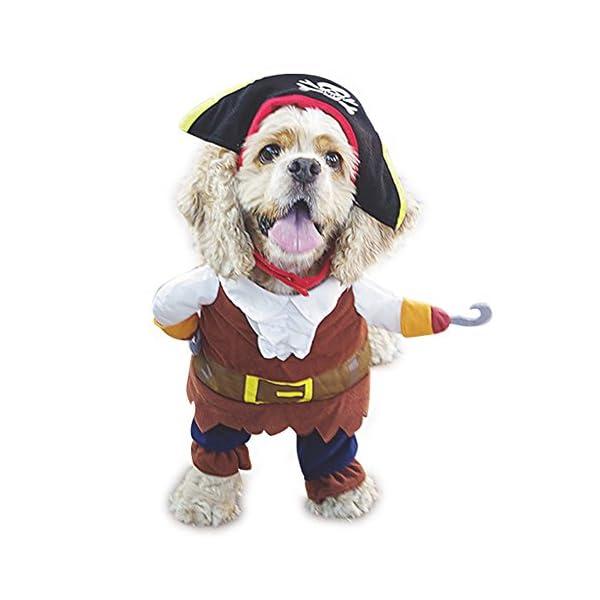 NACOCO Pet Dog Costume Pirates of The Caribbean Style (Large)