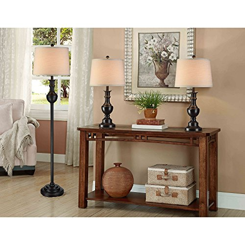 Fairmont 3-Piece Lamp Set by fairmont