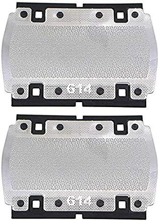 2 piezas de pantalla de aluminio para afeitadora Braun Pocketgo ...