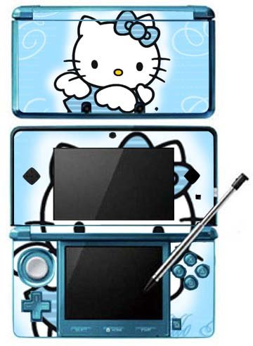 Hello Kitty Game Skin for Nintendo 3DS Console