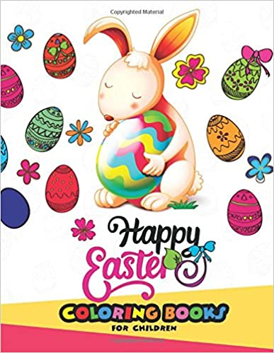 Easter coloring books for children: (Jumbo Size Edition)