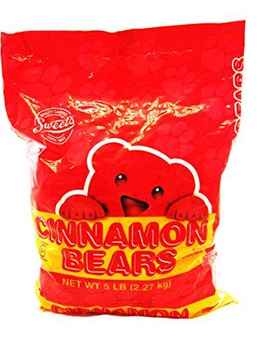 Sweet's Cinnamon Bears, 80 Oz (Bears Cinnamon Gummi)