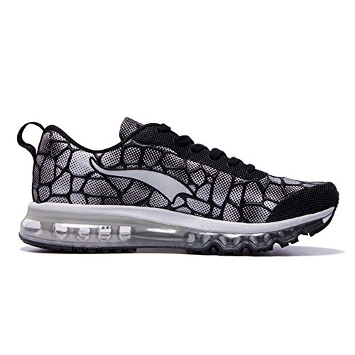 traspirante Bianco Adult Sneakers Donna jogging Air Scarpe Nero Fitness Onemix Sport Mixed Uomo da wqOXW51A