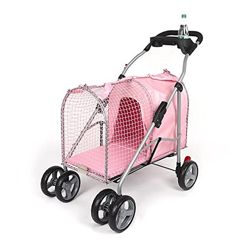 Kittywalk 5th Ave Pet Stroller - Pink
