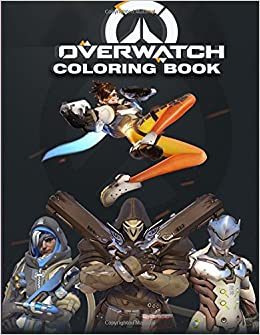 Amazon Com Overwatch Coloring Book Great Coloring Pages