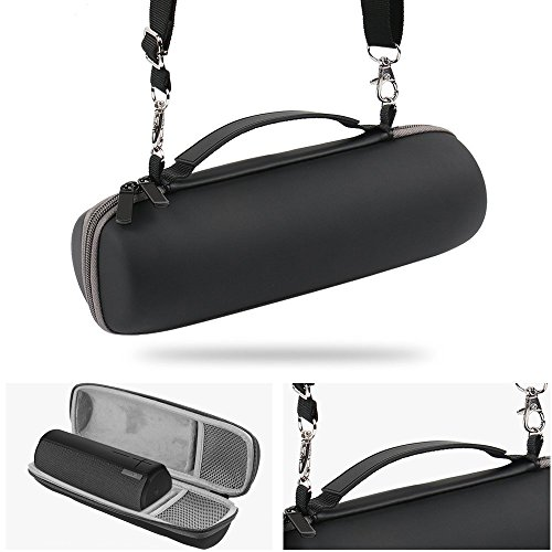 Hard Case for Ultimate Ears UE BOOM 2 / UE BOOM 1 Wireless Bluetooth Portable Speaker. Fits USB Cable and Wall Charger