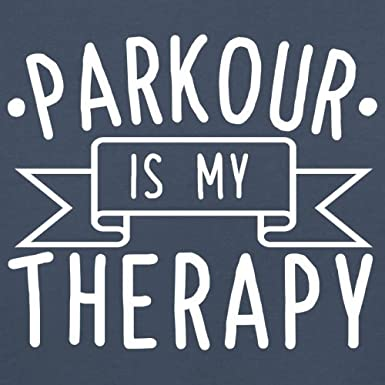 Dressdown Parkour is My Therapy Baby//Toddler T-Shirt 8 Colours Ages 3-24 Months