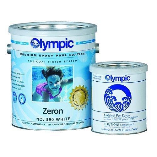 Kelley Technical Coating 390-GL Olympic Zeron Zeron One Coat Epoxy Gallon, White by KELLEY TECHNICAL COATING ()