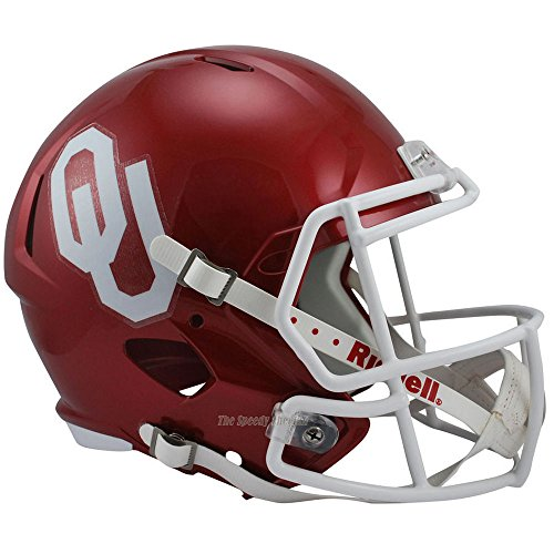 Oklahoma Sooners Officially Licensed NCAA Speed Full Size Replica Football Helmet by Riddell