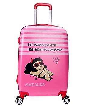 Maleta Mediana 65Cm Mafalda Kids: Amazon.es: Equipaje