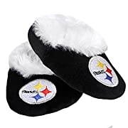 NFL Football Baby Infant Soft Bootie Shoe - Pick Team (Pittsburgh Steelers, 3-6 Months)