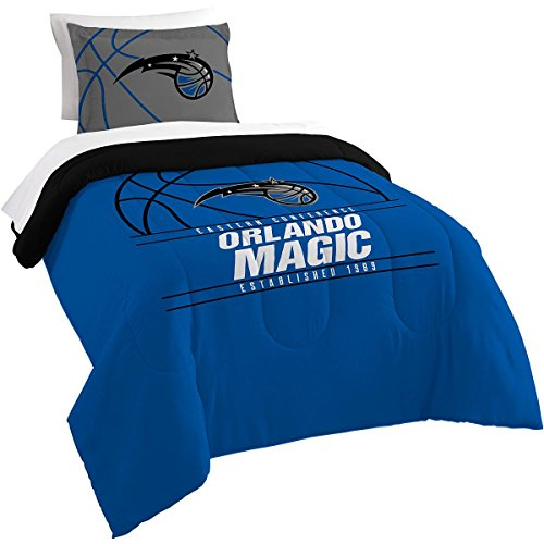 The Northwest Company Officially Licensed NBA Orlando Magic Reverse Slam Twin Comforter and Sham
