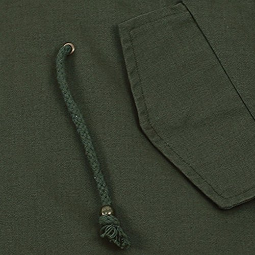 Chaqueta Cálido Más abrigos Terciopelo Invierno Algodón Cardigan Darringls Verde Elegantes Mujer PCwxq116
