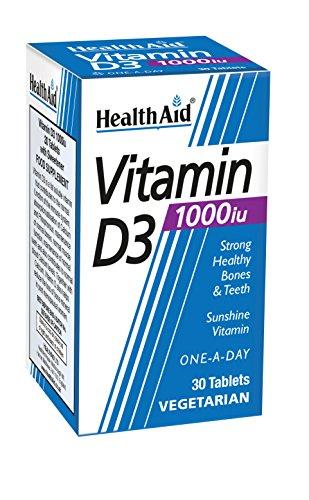 HealthAid Vitamin D3 1000iu - 30 Tablets