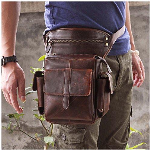 Leather Hip Bag - 6