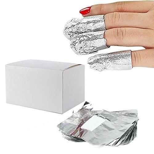 Gel Polish Foil Remover Wraps (120 Count Cd)