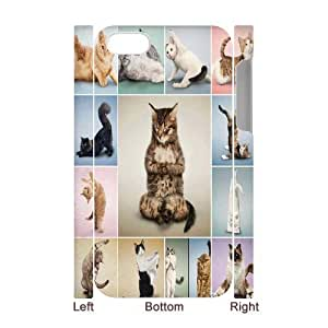 Yoga Cats Brand New 3D Cover Case for Iphone 4,4S,diy case cover ygtg573730 by mcsharks