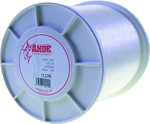 Ande Premium Monofilament - 2 lb. Spool - 25lb. Test - Clear