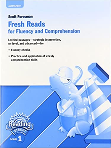 Amazon fresh reads for fluency and comprehension reading fresh reads for fluency and comprehension reading street grade 1 by scott foresman fandeluxe Images