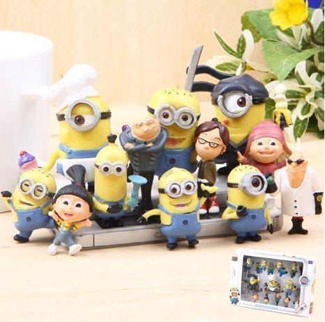 re the Minions Mini Figurines Set of 12Pcs Toys ()