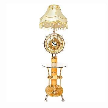 Stehleuchte Kreative Uhr Tisch Wohnzimmer Couchtisch Dekoration