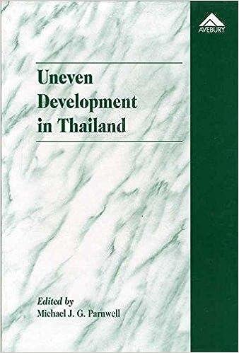 Uneven Development in Thailand