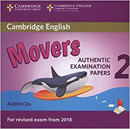 27a5b124ef810 Cambridge English Young Learners 2 for Revised Exam from 2018 Movers Audio  CDs  Authentic Examination Papers Audio CD – Audiobook