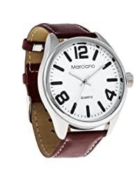 Marciano Men's | Easy Read Classic Brown Band Watch | MA1037