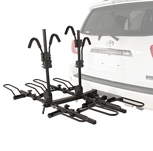 Hollywood Racks HR1400 Sport Rider SE 4-Bike Platform Style Hitch Mount Rack (2-Inch Receiver) by Hollywood Racks