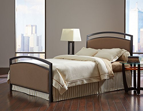 Fashion Bed Group Transitional Gibson Headboard, Queen, Brown Sugar/Brown Sparkle (Allen Wesley Set Bed)