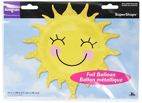 Anagram International 2451901 Sunshine Sun Shape Balloon Pack, 29