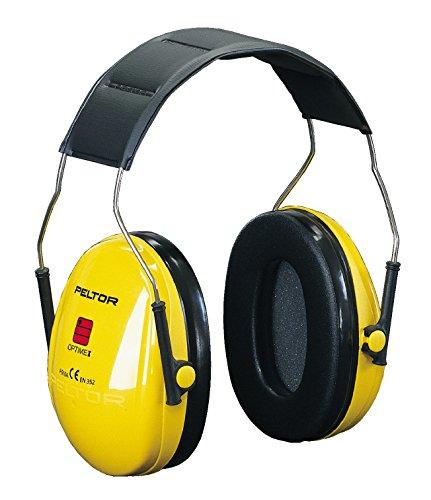3M PELTOR Optime I Earmuffs, 27 dB, Yellow, Headband, H510A-401-GU