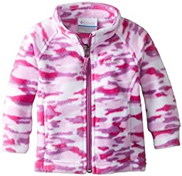 Columbia Baby Girls\' Benton Springs II Fleece, Blossom Pink Camo, 18 24 Months